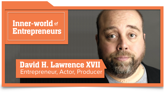 David Lawrence VO2GoGo Entrepreneur Actor