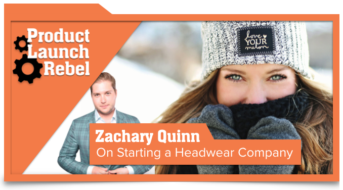 Zachary Quinn, Love Your Melon, Entrepreneur, Startup, Success, Venture Superfly, John Benzick