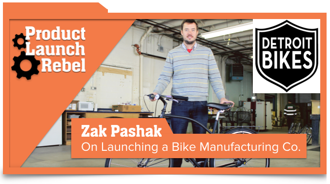 Zak Pashak, Detroit Bikes, Bicycle, Startup, Entrepreneurship, Entrepreneur, Venture Superfly, John Benzick, Success